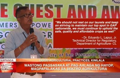 Wastong pagsasaka at pag-aalaga ng hayop, magpapalakas sa sektor agrikultura   News