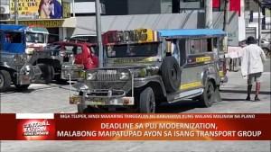 Deadline sa PUJ modernization, malabong maipatupad ayon sa isang transport group