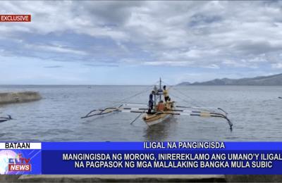 Mangingisda ng Morong, inirereklamo ang umano'y iligal na pagpasok ng mga malalaking bangka mula Subic