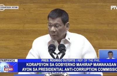 Korapsyon sa gobyerno mahirap mawakasan ayon Presidential Anti-Corruption Commission