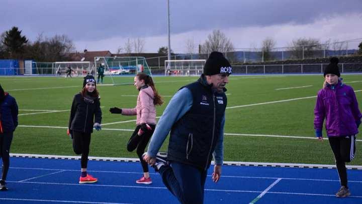 Go!!!!!!  les entraînements au stade d'Anvaing.
