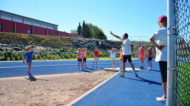Stage d'athlétisme : technique lancer du poids