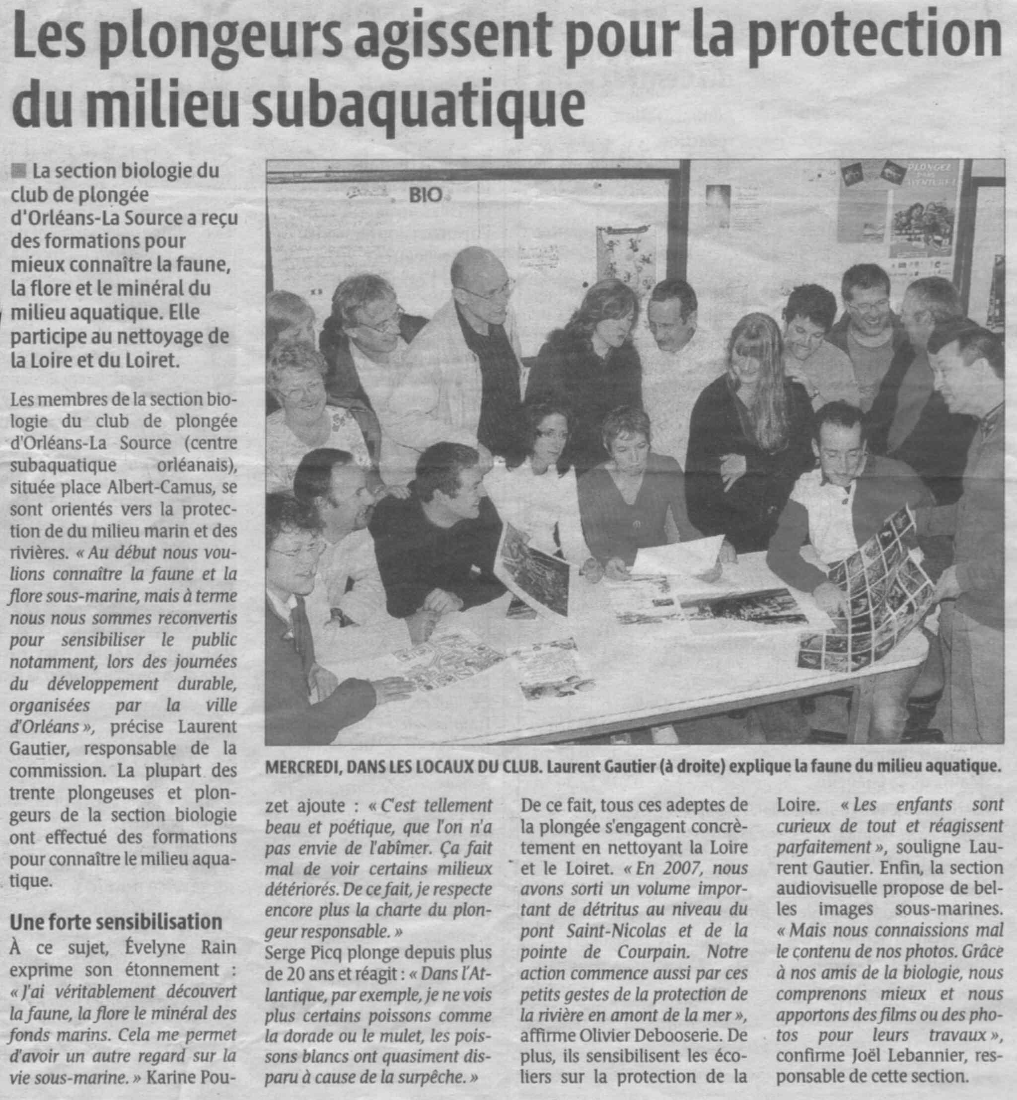 La République du Centre – mars 2008