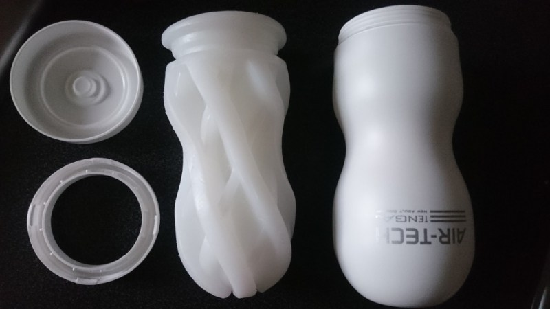 Vue d'ensemble tenga air tech masturbateur vaginette