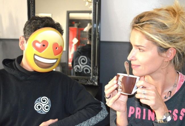 Emoticones mode lover masque drole pour homme