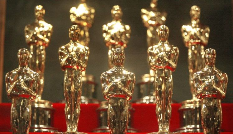 Oscar Statuettes On Display At Chicago Museum Of Science & Industry