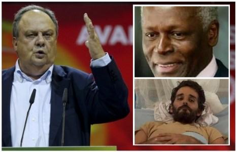 """Referindo-se a Jose Eduardo dos Santos, João Soares alerta contra """"tentação de matar o pai"""""""