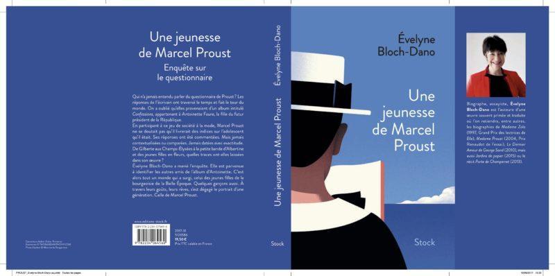 Evelyne Bloch-Dano - Une jeunesse de Marcel Proust - Editions Stock