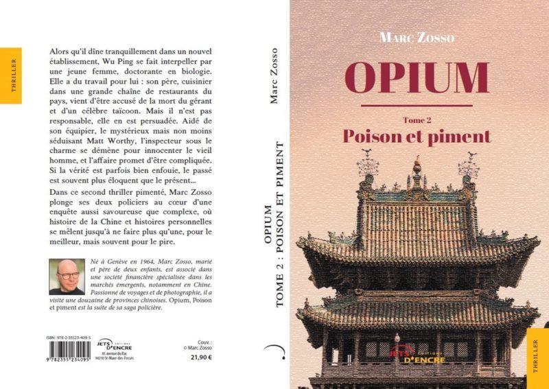 Marc Zosso - Opium tome 2 - Poison et Piment - Edition Jets d Encre - 4e couv