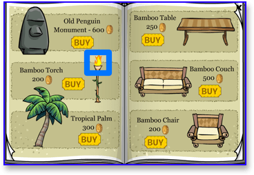 club-penguin-bamboo-torch