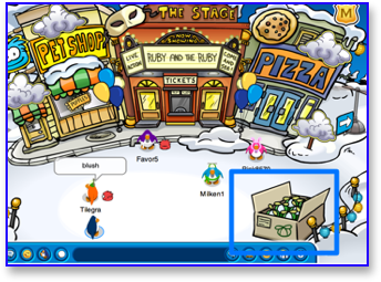 club-penguin-green-propeller-cap