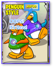 Post image for Club Penguin Clothing Catalog Cheats for January, 2010