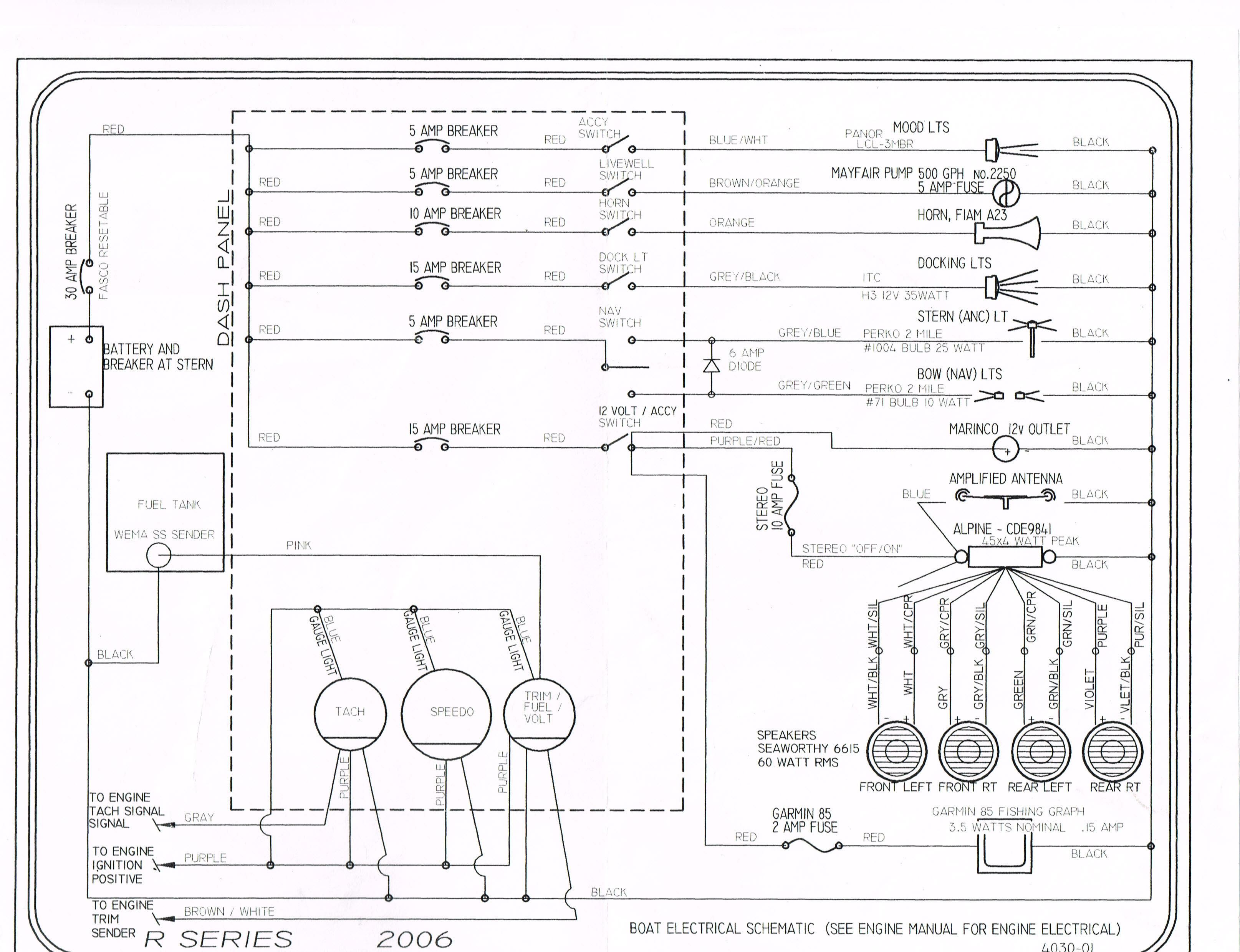 2007 wiring diagram club bennington bennington pontoon boat wiring diagram bennington wiring diagram [ 3229 x 2479 Pixel ]