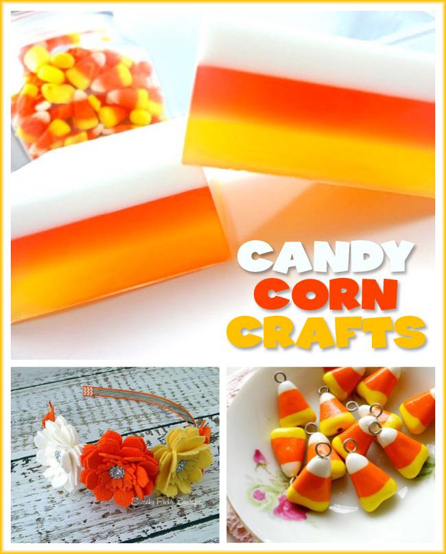 Candy Corn Craft Round Up