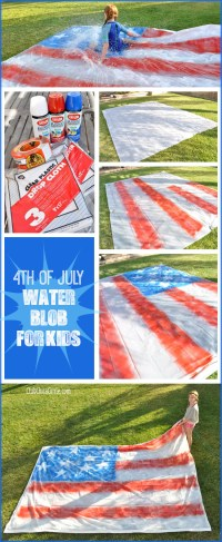 4th of July Party  Water Blob for Kids