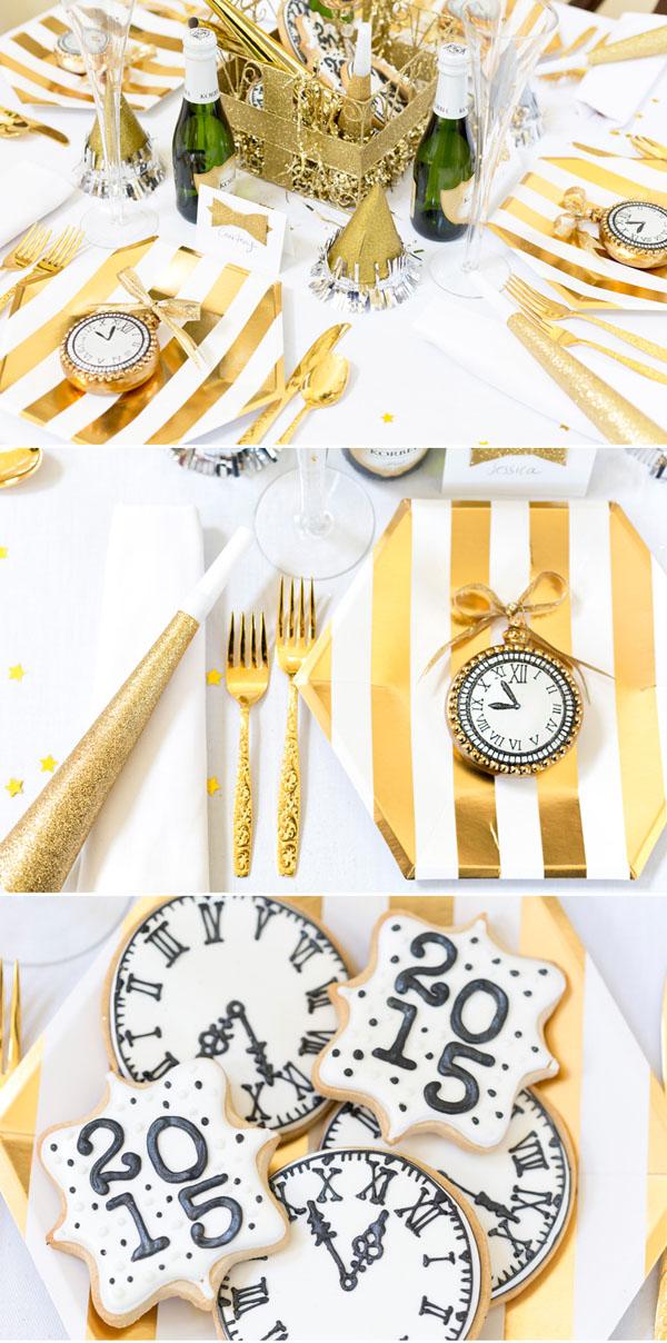 Black And Gold Christmas Ball Set