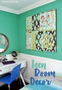 Teen Room Decor with FrogTape