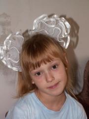 russian hair flowers ribbons