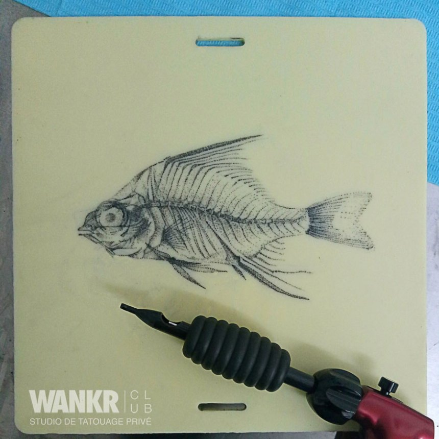 X ray fish tattoo