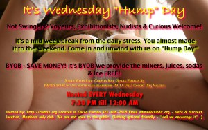 "Wednesday ""HuMp DaY"" & Glory Hole - Fun and Food! @ Club3X 