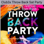 Throw back party