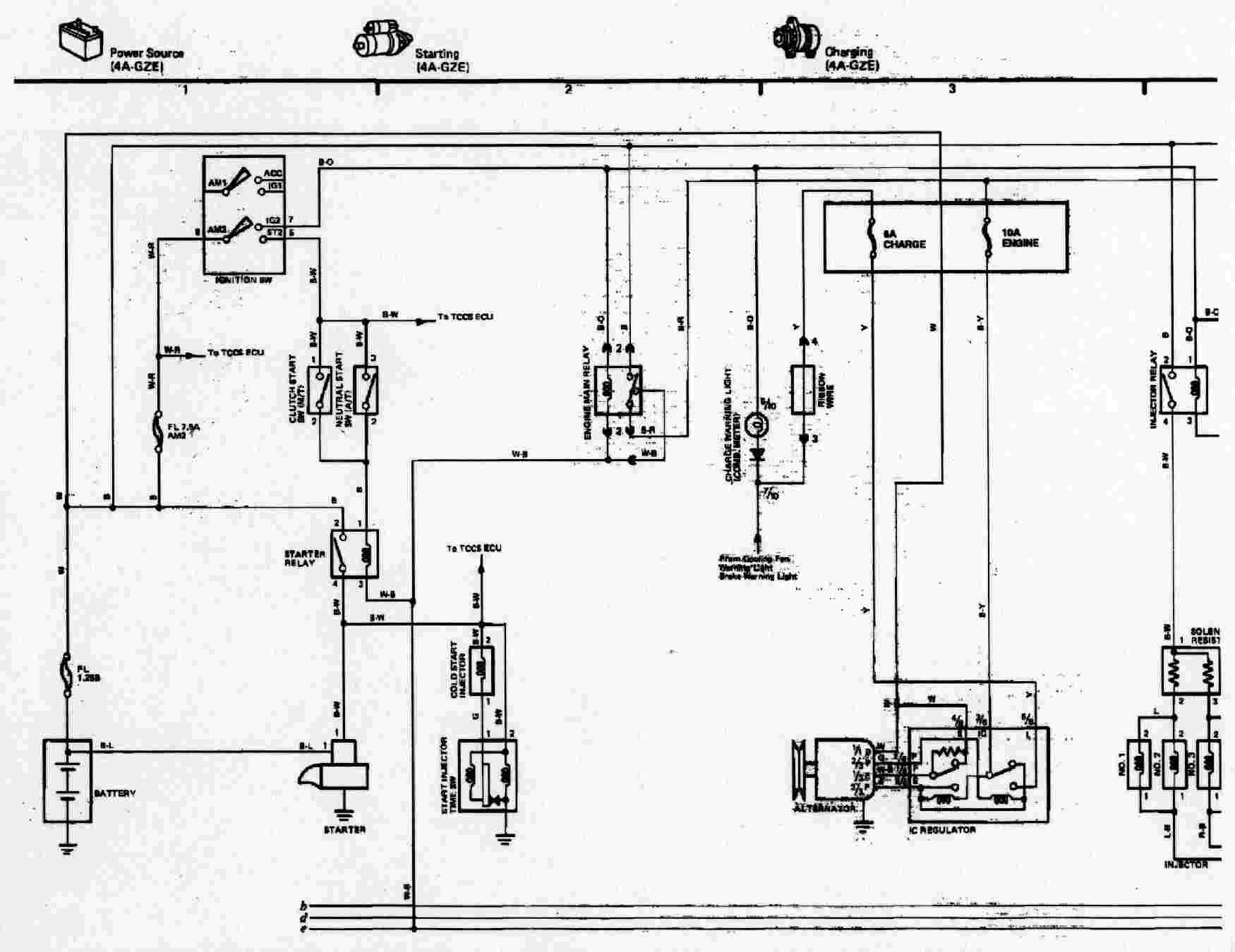 Toyota Mr2 Wiring Diagrams Diagram Schematic