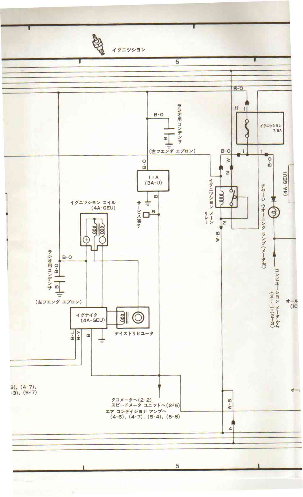 jdm ae86 wiring diagram cat 5 vs 6 ecu 4a ge japan