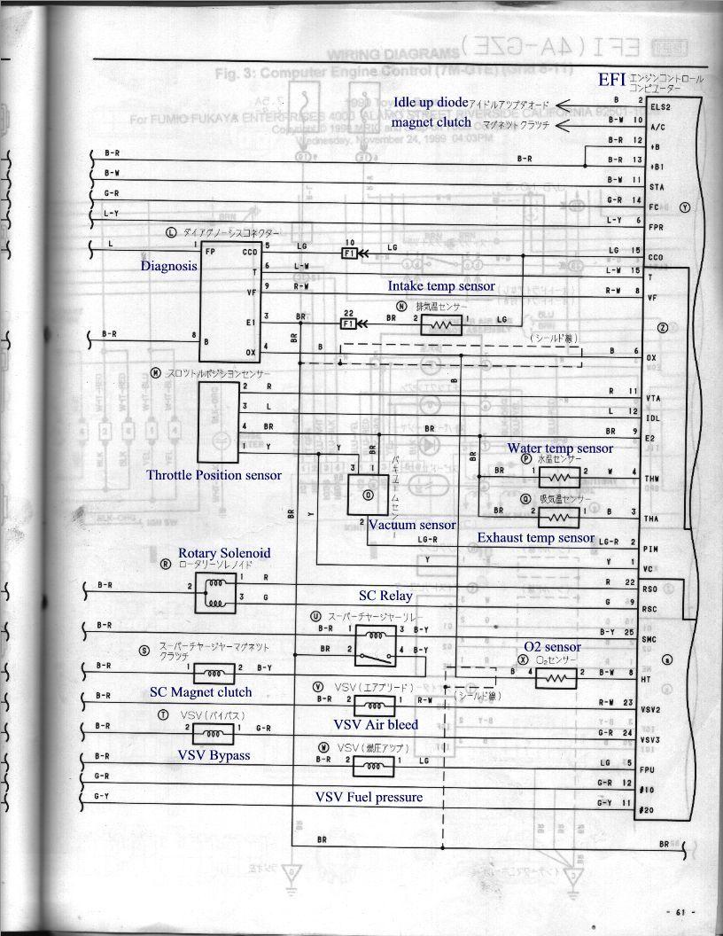 4 pin indicator relay wiring diagram massey ferguson generator ecu 1990-91 japan 4a-gze ae92