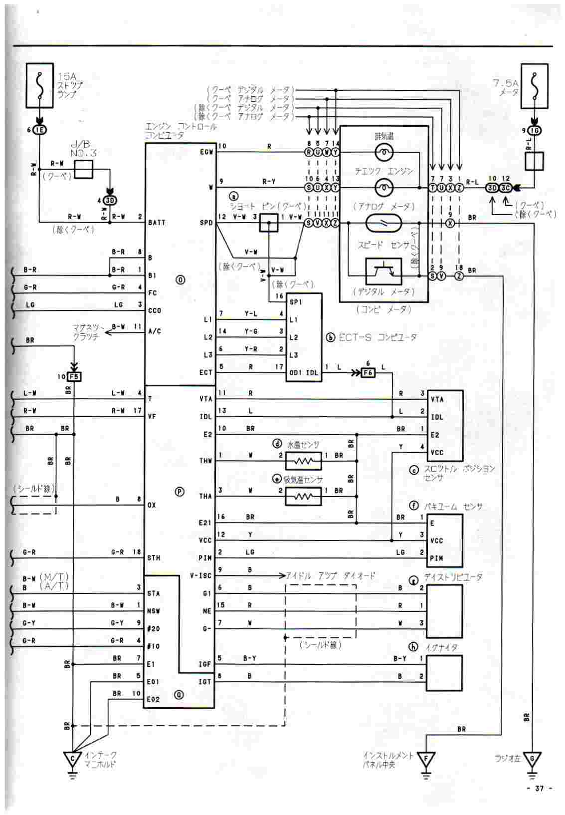 toyota ae111 wiring diagram a of microscope parts ooh latest corolla info n pic keretalama