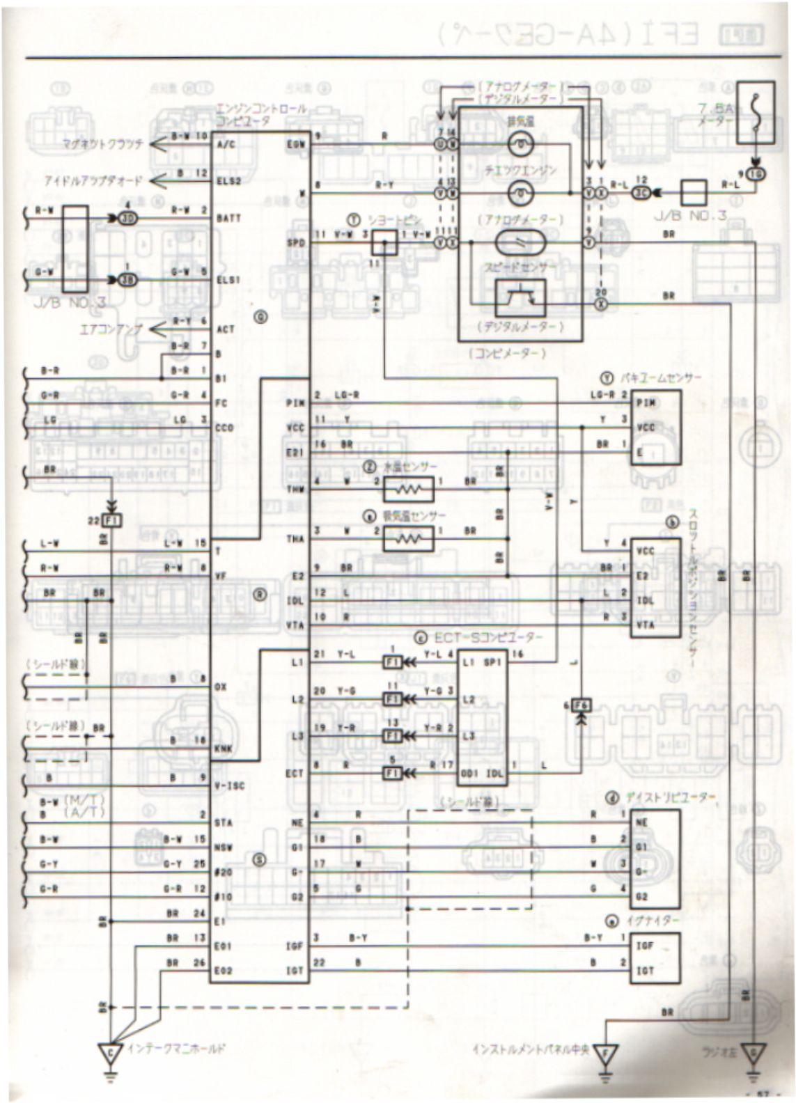4age 20v distributor wiring diagram 2001 nissan xterra radio ecu 1990 91 ae92 4a ge
