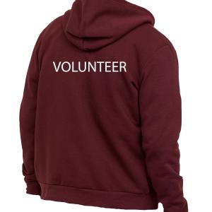Volunteer Zip Hoodie