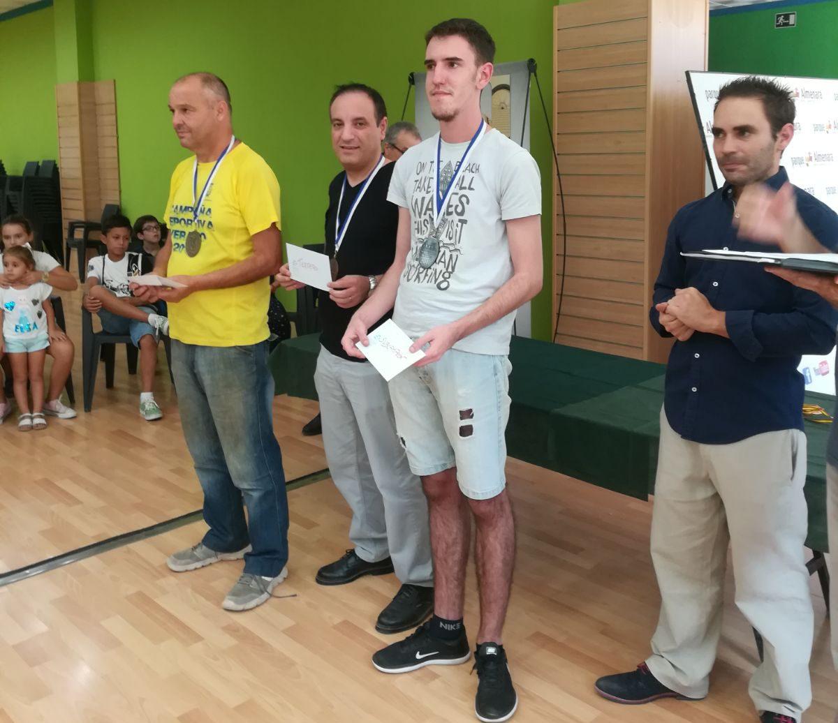 El GM ingles James Plaskett campeón del Torneo Juegos del Guadalentin 2017