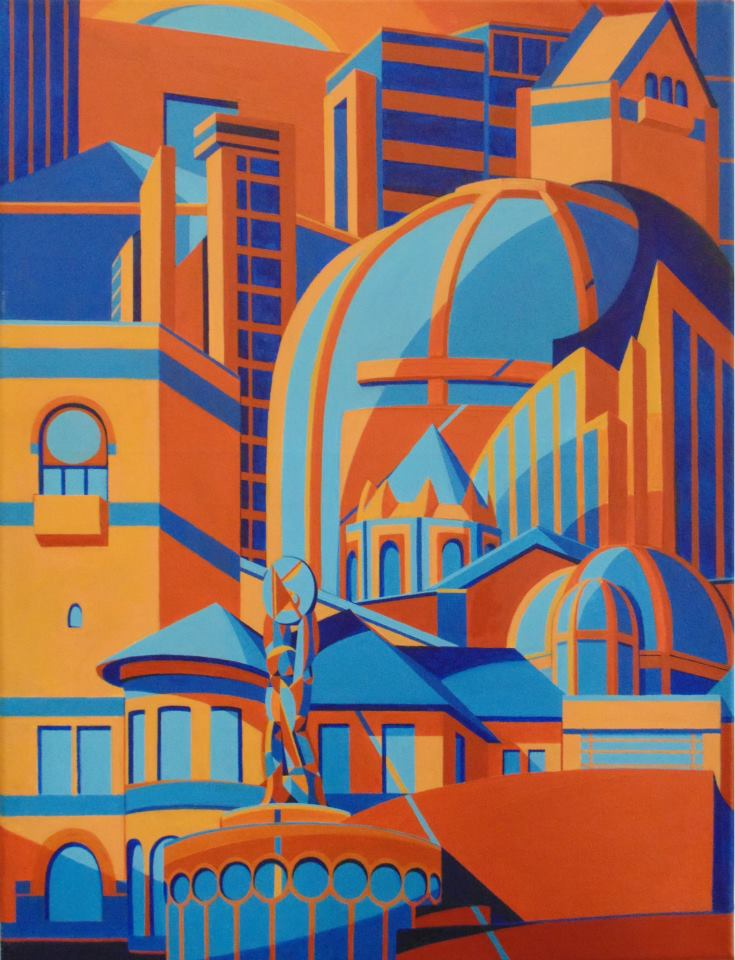 Downtown San Jose Doors Winner 2014 Eshter's artwork