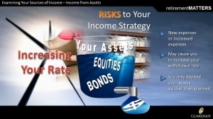 risks to your income planning