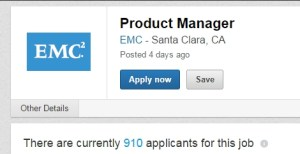 910 applicants PM for EMC