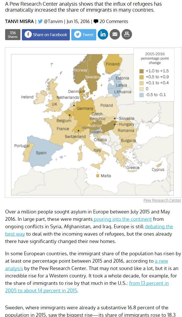 migrant movement to EU
