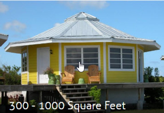 300-500 sq ft granny homes