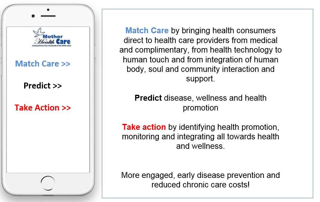 motherhealth health concierge screen 1