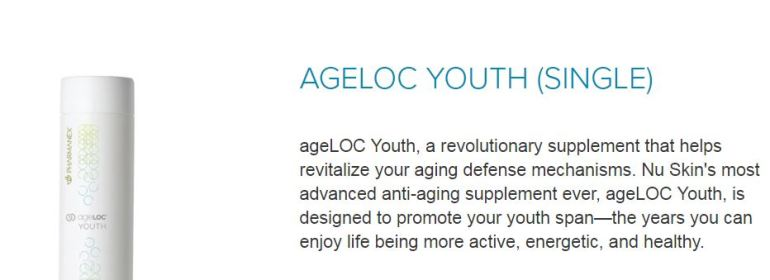 ageloc youth