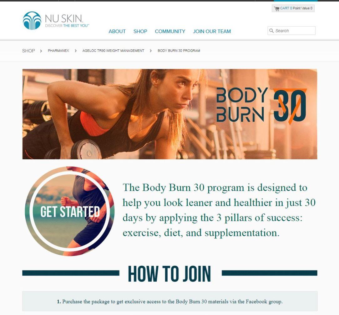 30 day burn