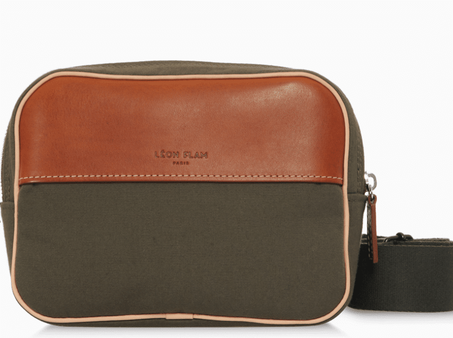 SAC/BAGCouzinet OLIVE by LÉON FLAM PARIS - Made in France