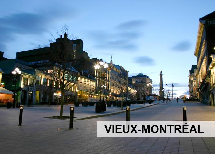 Vieux-Montréal Condos Appartements