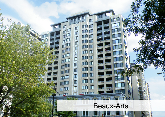 Beaux Arts Condos Appartements