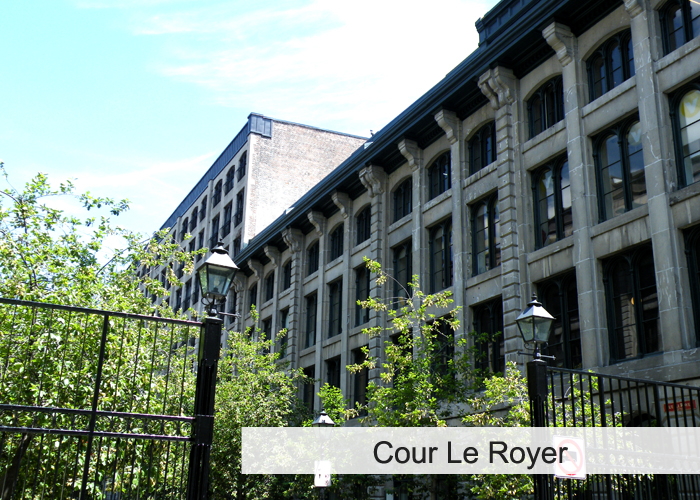 Cour Le Royer Condos Appartements