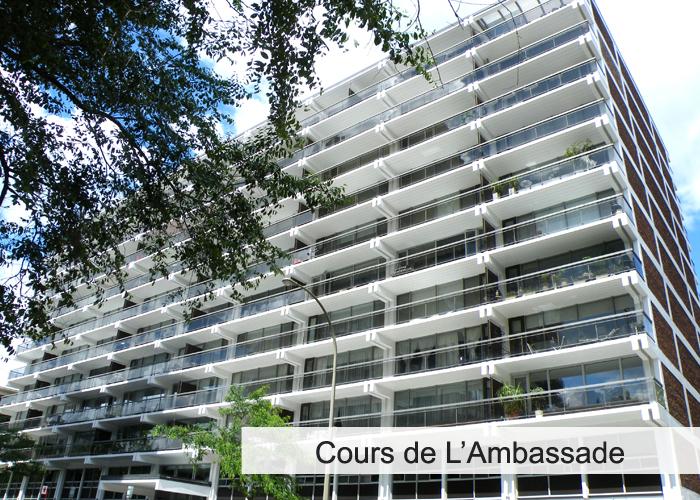 Cours de L'Ambassade Condos Appartements