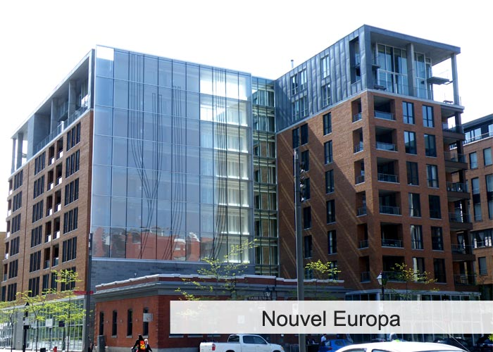 Nouvel Europa Condos Appartements