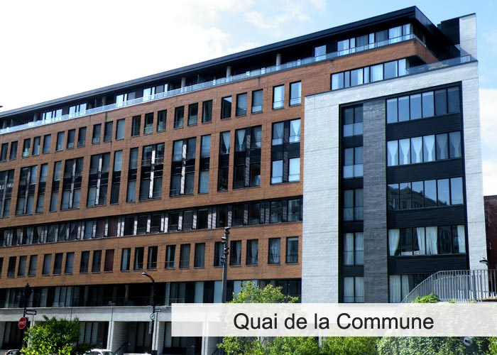 Quai de la Commune Condos Appartements