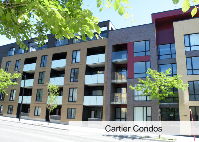 Cartier Condos Condos Appartements