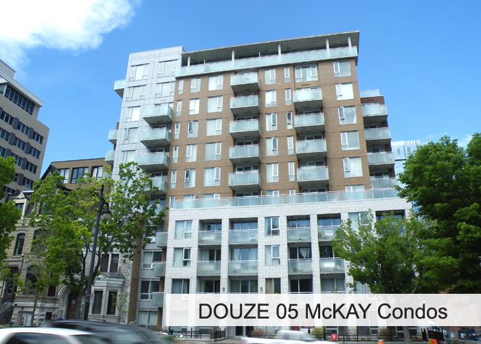 Douze 05 McKAY Condominiums Condos Appartements