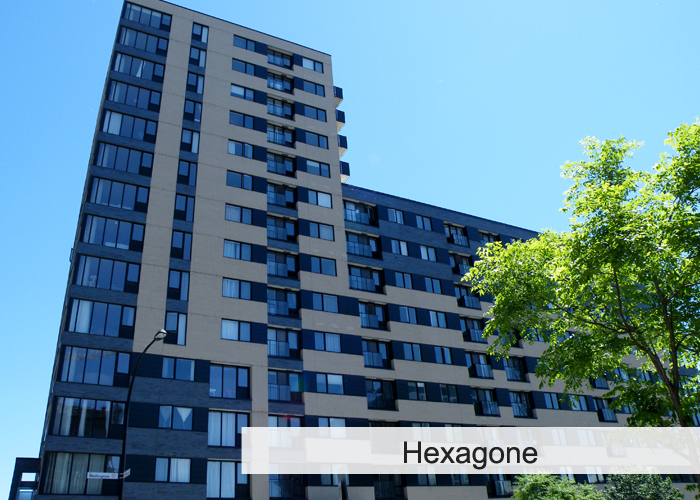 L'Hexagone Condos Appartements